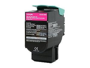 Lexmark X544N Magenta Toner Cartridge - High Yield, Genuine