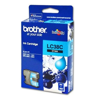 Brother Cyan Ink Cartridges LC38C