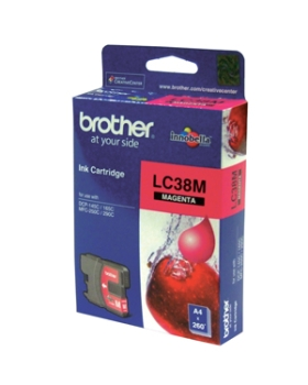 Brother Magenta Ink Cartridges LC38M