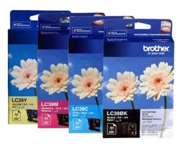 Brother Yellow Ink Cartridges LC39Y
