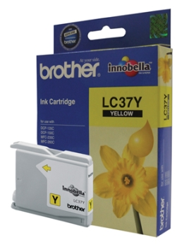 Brother Yellow Ink Cartridges LC37Y