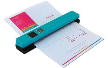 IRIS IRIScan Anywhere 5 Portable Scanner- Turquoise
