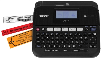 Brother PTD450 High-Speed PC-Connectable Label Maker