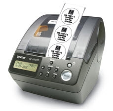 Brother P-Touch QL-650TD Stand Alone and PC Professional Label Printer
