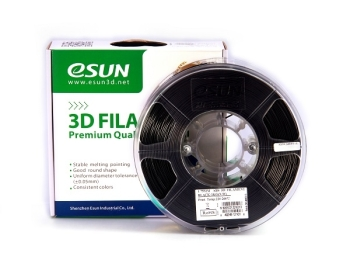 ESun 3D Filament ABS 1.75mm Black