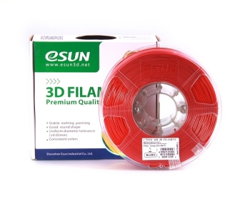 ESun 3D Filament ABS 1.75mm Red