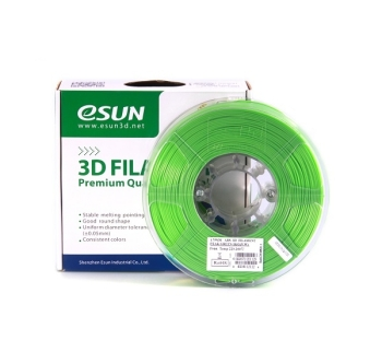 ESun 3D Filament ABS 1.75mm Peak Green