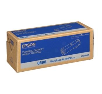 Epson C13S050698 Standard Capacity Black Toner Cartridge- 12,000 pages