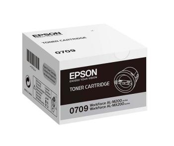Epson C13S050709 Standard Capacity Black Toner Cartridge- 2,500 pages