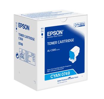 Epson C13S050749 Cyan Toner Cartridge- 8,800 pages