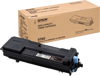 Epson C13S050762 Black Toner Cartridge Pack- 21,700 pages