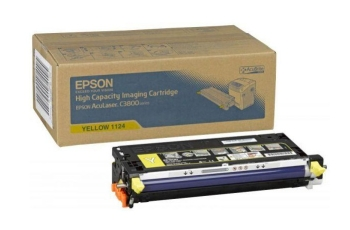 Epson C13S051124 High Capacity Yellow Toner Cartridge - 9000 pages