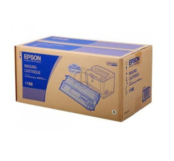 Epson C13S051188 Black Imaging Toner Cartridge- 15,000 pages