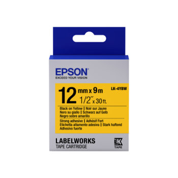 Epson Label Cartridge Strong Adhesive LK-4 Series 12mm (9m)