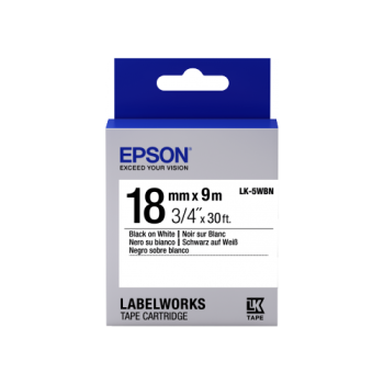 Epson Label Cartridge Standard LK-5 18mm (9m)