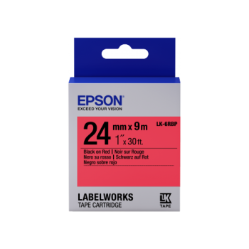Epson Label Cartridge Pastel LK-6 Series 24mm (9m)