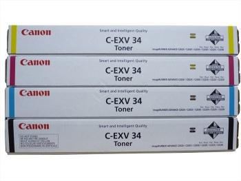 Canon C-EXV34 Color Toner Cartridge