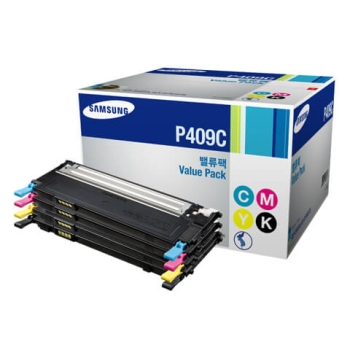 Samsung CLT-P409C Value Pack Toner Cartridge