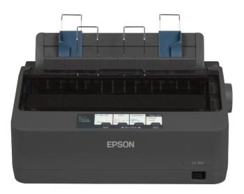 Epson LX-350 Economical 9-Pin 80-Column Dot Matrix Printer
