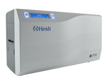 Heidi CP55-S00S3 Single Sided ID Card Printer Includes 1 YMCKO Ribbon, 100 Cards, 1 Cleaning Card