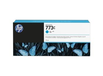 HP 773C 775-ML Cyan DesignJet Ink Cartridge