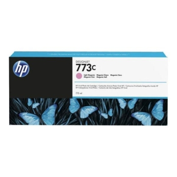 HP 773C 775-ml Light Magenta DesignJet Ink Cartridge