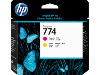 HP 774 Magenta / Yellow DesignJet Printhead