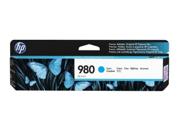 HP 980 D8J07A Cyan Original Ink Cartridge