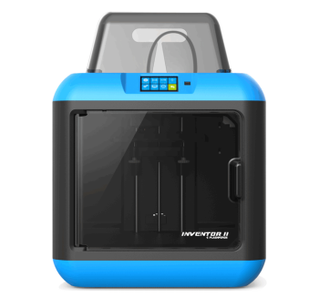 Flashforge Inventor II Plug and Play Desktop 3D Printer