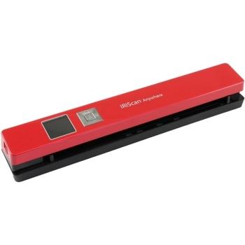 IRIS IRIScan Anywhere 5 Portable Scanner- Red