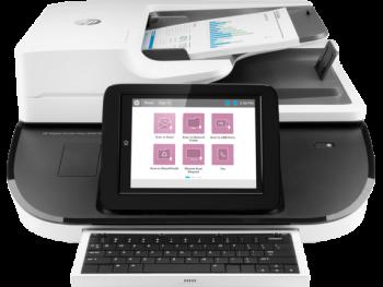 HP Flow 8500 fn2  Digital Sender Document Capture Workstation Scanner