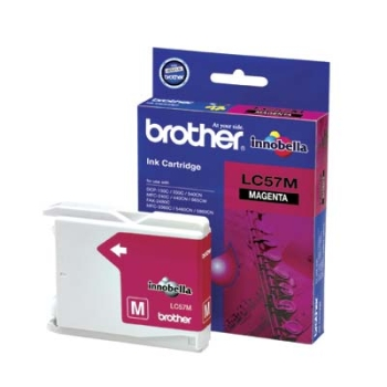 Brother Magenta Ink Cartridges LC57M