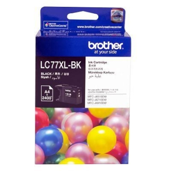 Brother High Yield Black Ink Cartridges LC77XLBK