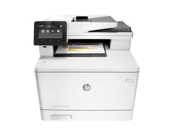 HP M477FDW Color LaserJet Pro Multi-function Wireless Printer