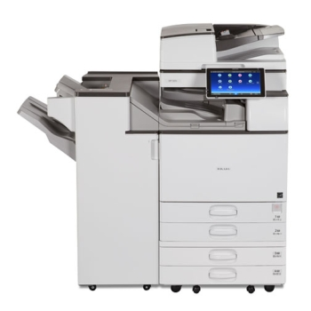 Ricoh MP 6055SP B/W Laser Multifunction Printer with Toner two Tray + cabinet