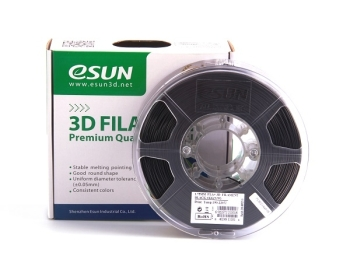 ESun 3D Filament PLA+ 1.75mm Black