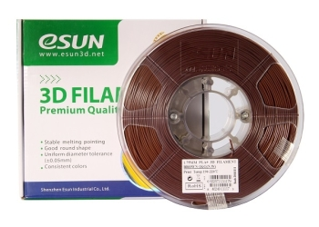 ESun 3D Filament PLA+ 1.75mm Brown