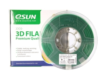 ESun 3D Filament PLA+ 1.75mm Pine Green