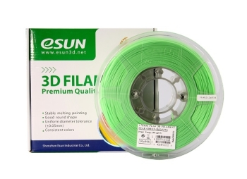 ESun 3D Filament PLA+ 1.75mm Peak Green