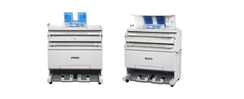Ricoh Aficio MP W3601 Wide Format Digital Imaging System Printer