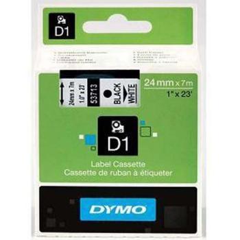 Dymo S0720930 D1 Tape 24mm Black on White
