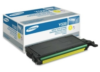Samsung CLT-Y508 Yellow Toner Cartridge