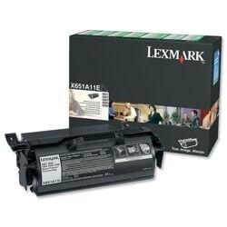 Lexmark Black Toner Cartridge T650A11E - Genuine