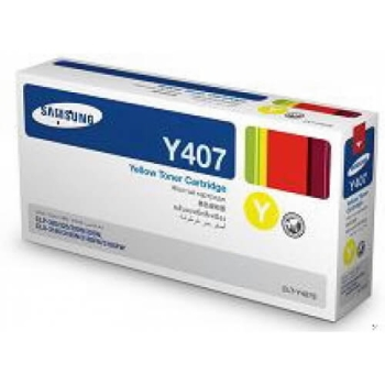 Samsung CLT-Y407S Yellow Toner Cartridge